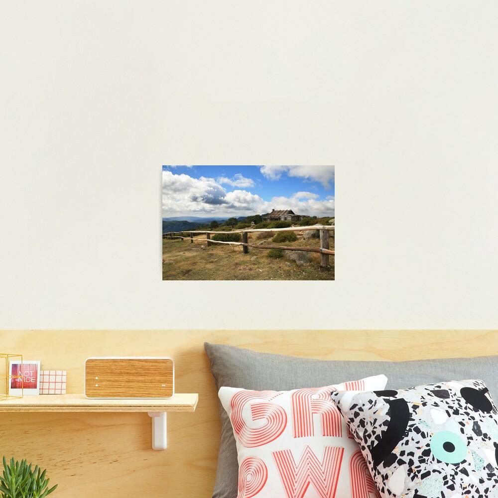 Autumn Afternoon at Craig's Hut, Mt Stirling, Australia Photographic Print