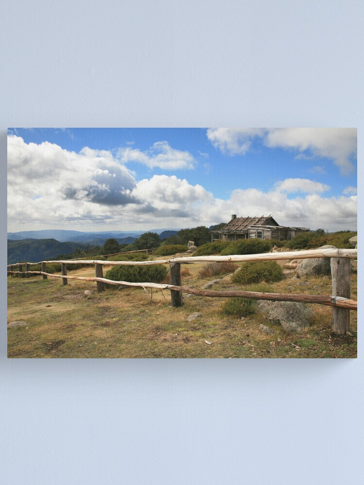 Alternate view of Autumn Afternoon at Craig's Hut, Mt Stirling, Australia Canvas Print