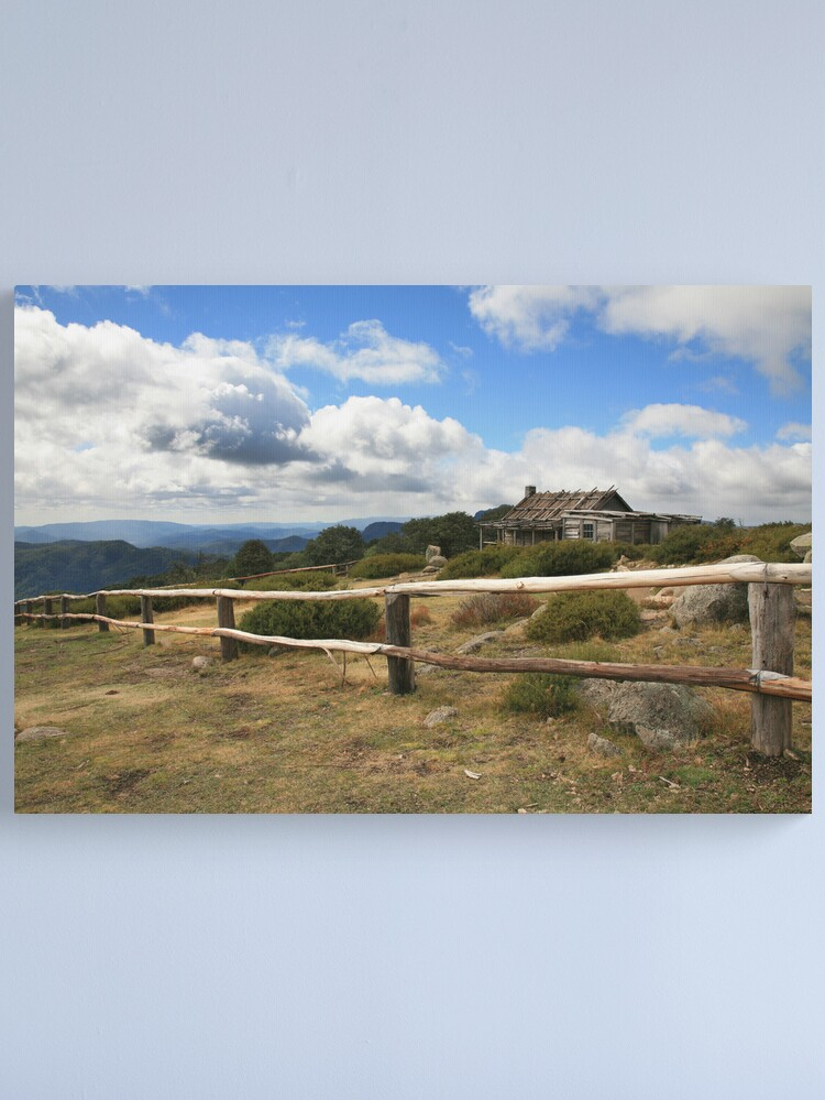 Alternate view of Autumn Afternoon at Craig's Hut, Mt Stirling, Australia Canvas Print