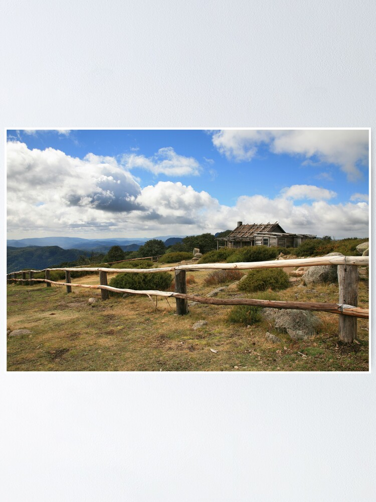 Alternate view of Autumn Afternoon at Craig's Hut, Mt Stirling, Australia Poster