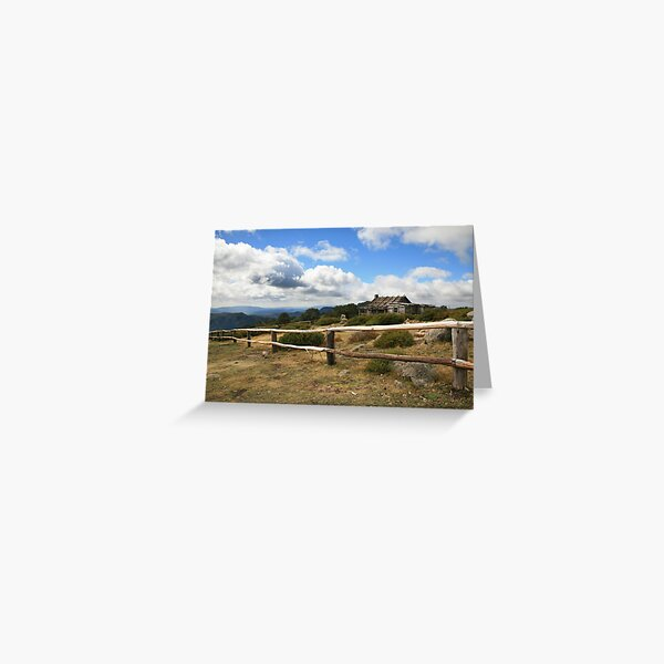 Autumn Afternoon at Craig's Hut, Mt Stirling, Australia Greeting Card