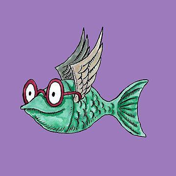 Happy Water, the Flying Fish by Sorazal