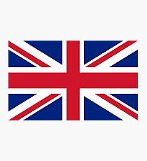 Union Jack, FULL COVER, British Flag, UK, United Kingdom, Pure & simple, 1:2 Photographic Print