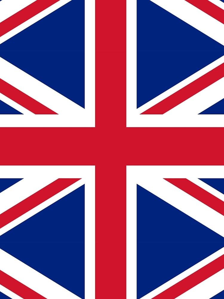Union Jack, FULL COVER, British Flag, UK, United Kingdom, Pure & simple, 1:2. by TOMSREDBUBBLE