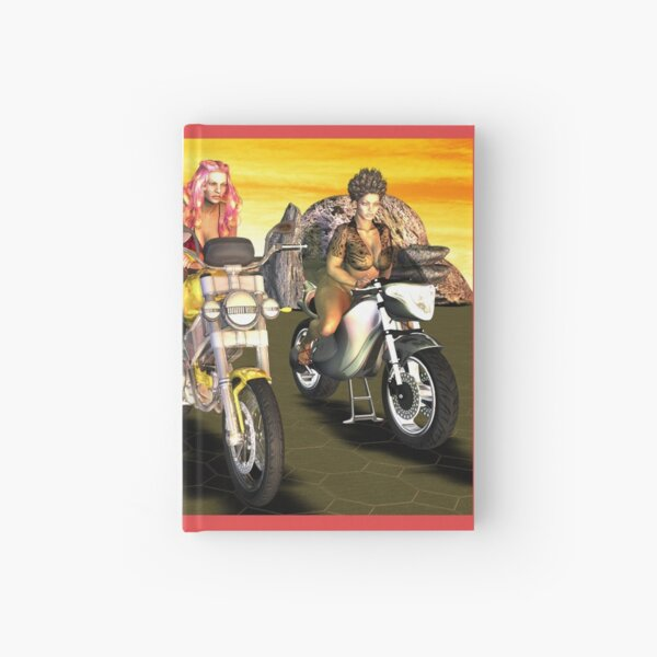 The Motorcycle Race War... Hardcover Journal