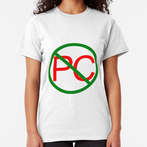 Anti-Political Correctness Classic T-Shirt