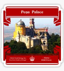Pena Palace of Portugal Sticker