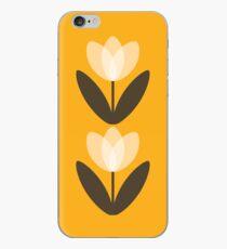 Tulpen Handytasche in Senfgelb iPhone-Hülle & Cover