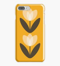 Tulip Phone Case in Mustard Yellow iPhone 7 Plus Case