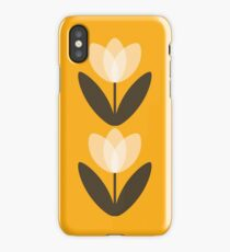 Tulip Phone Case in Mustard Yellow iPhone Case