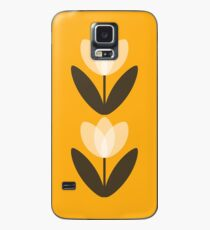 Tulip Phone Case in Mustard Yellow Case/Skin for Samsung Galaxy