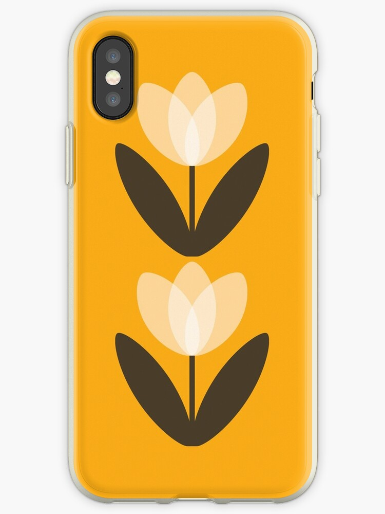 new style 42092 f862a 'Tulip Phone Case in Mustard Yellow' iPhone Case by SuzieLondon
