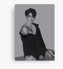 BTS Jungkook Drachen Tattoo Leinwanddruck