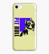 PIT BULL iPhone Case/Skin