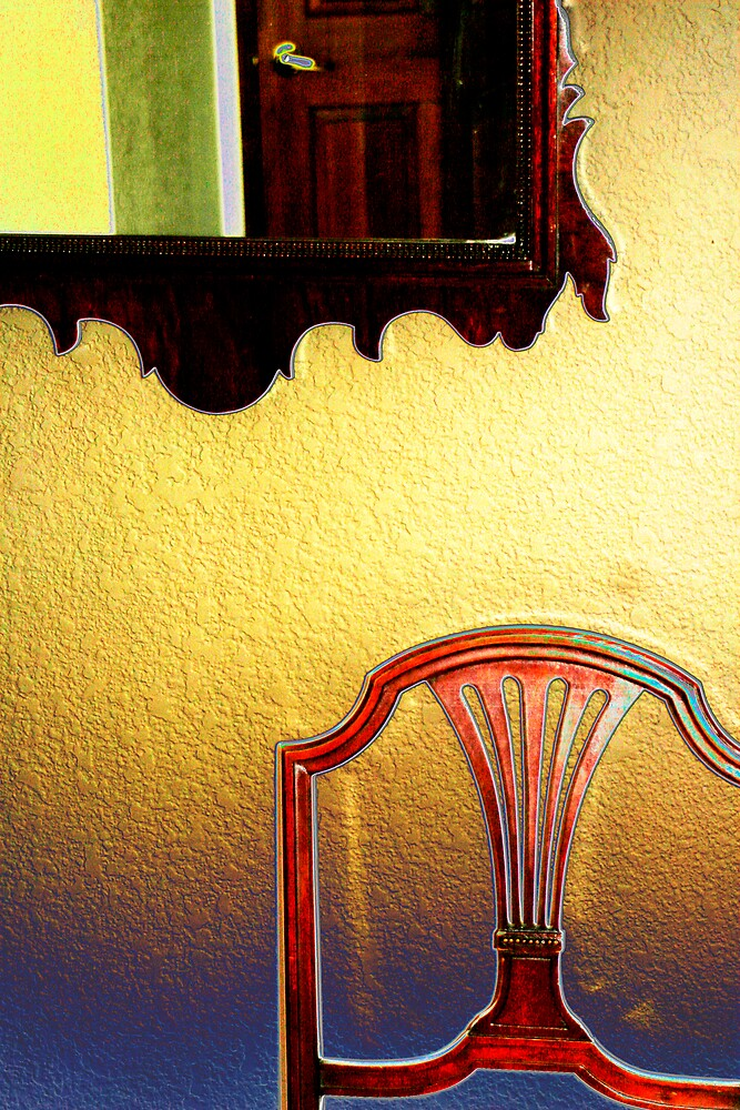 Mirror and Chair by Virginia Maguire