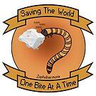 Mit Superworms die Welt retten von Justin Atkin