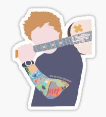 Ed Sheeran Illustration Sticker