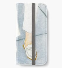 White on White Loafers iPhone Wallet/Case/Skin