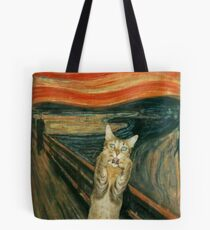 The Cat Scream Tote Bag