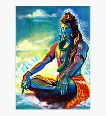Shiva in Meditation Photographic Print