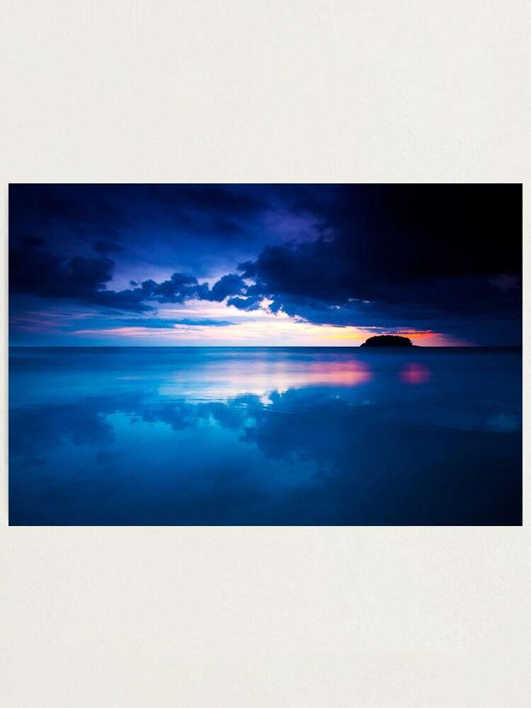 Alternate view of Kata Beach Sunset Photographic Print