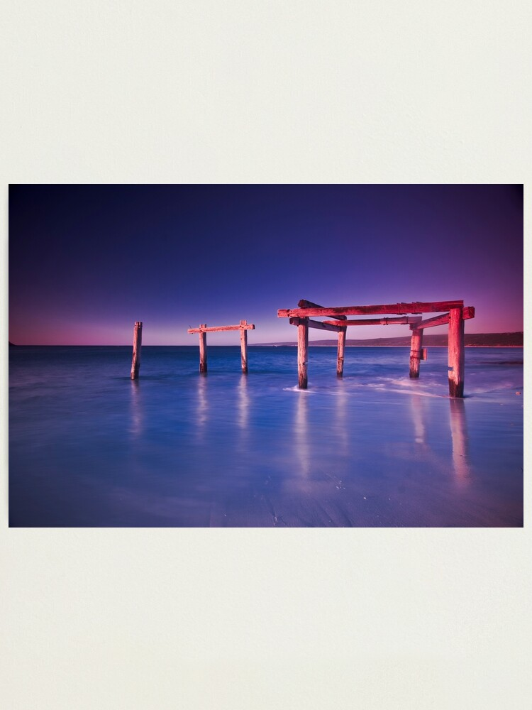 Alternate view of Hamelin Bay at Sunset Photographic Print