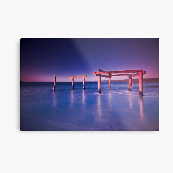 Hamelin Bay at Sunset Metal Print