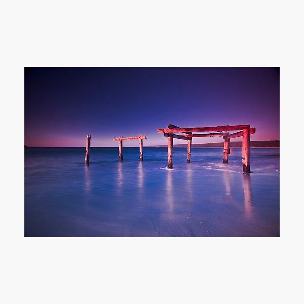 Hamelin Bay at Sunset Photographic Print