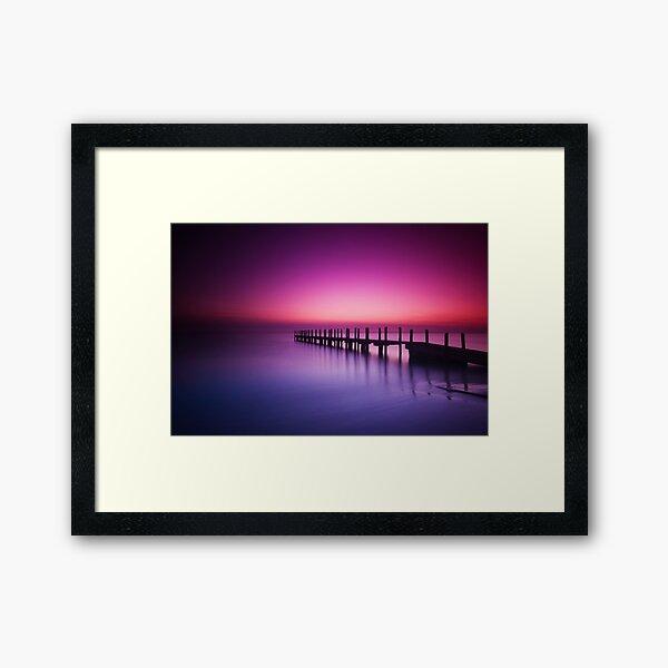 Quindalup Dawn II Framed Art Print