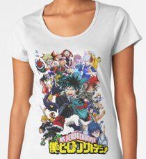my hero academia Women's Premium T-Shirt