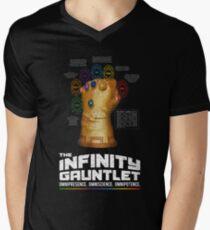 THE INFINITY GAUNTLET Men's V-Neck T-Shirt