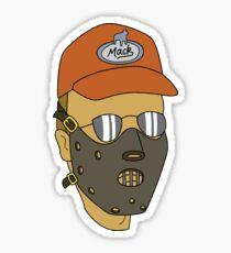 Dale Gribble - Hannibal Lecter Sticker