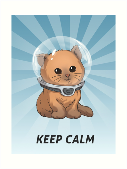 Keep Calm Kitty by UnknownWorlds