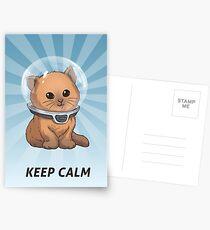 Keep Calm Kitty Postcards