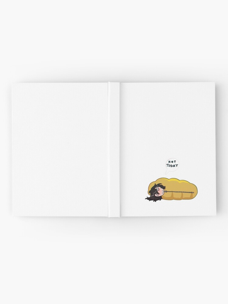 Alternate view of Not today Hardcover Journal