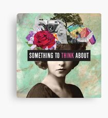 Something to Think About Canvas Print