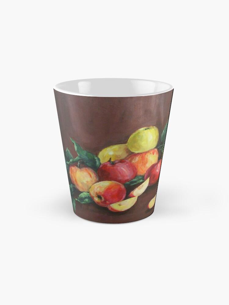 Alternate view of Apples Mug