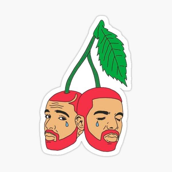 drake cherry Pegatina