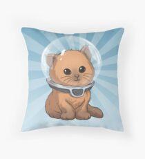 Keep Calm Kitty Throw Pillow