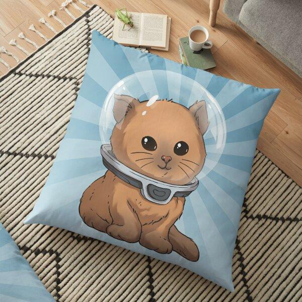 Keep Calm Kitty Floor Pillow