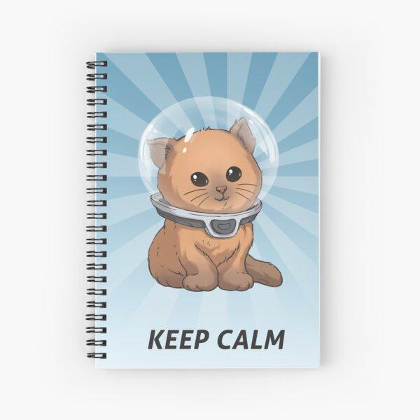 Keep Calm Kitty Spiral Notebook