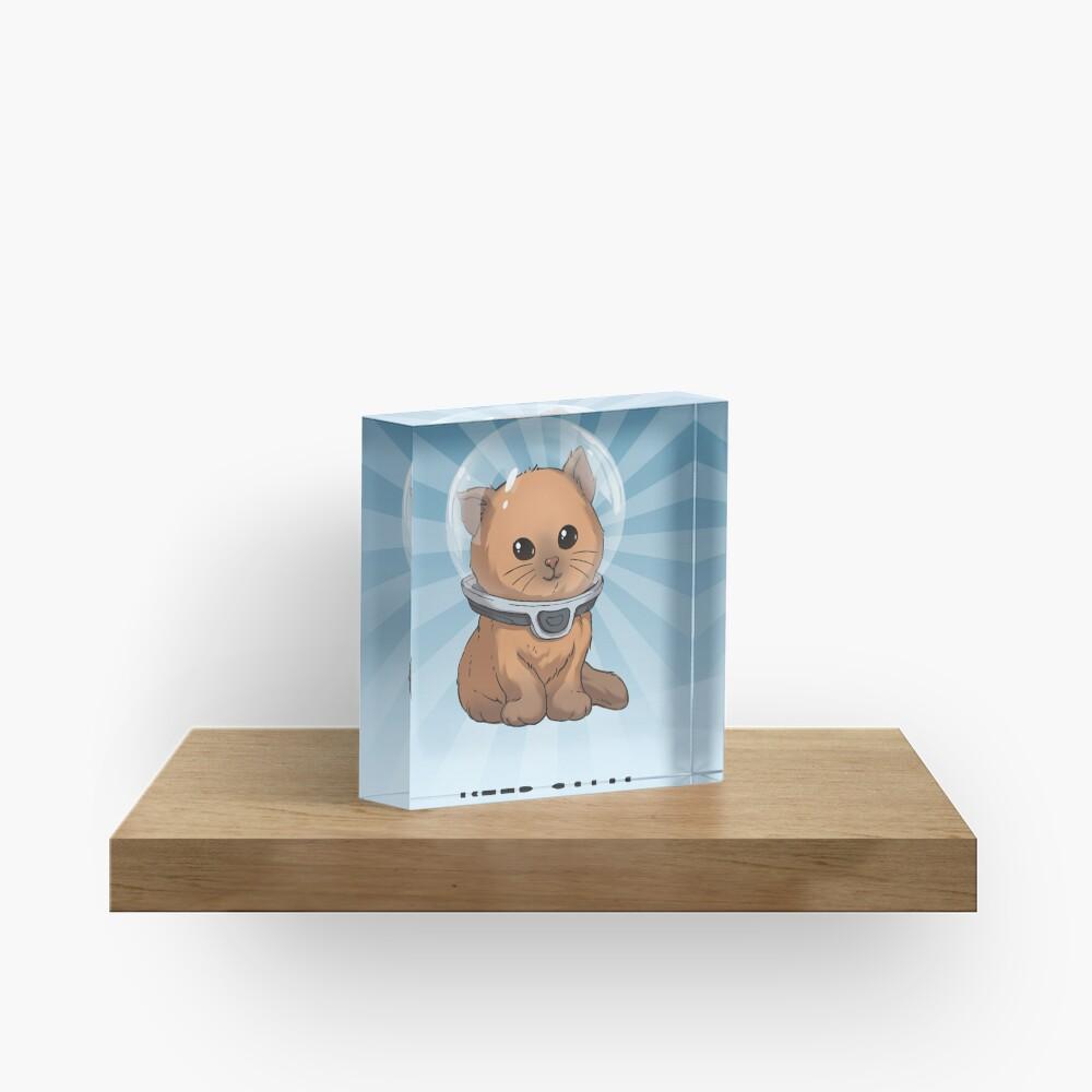 Keep Calm Kitty Acrylic Block