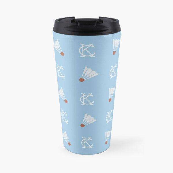 KC Pattern - Shuttlecocks Travel Mug