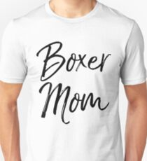 Camiseta unisex Boxer Mom