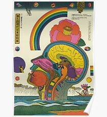 6th Contemporary Japanese Sculpture Exhibition poster (1975) by Kiyoshi Awazu Poster