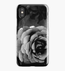Black and White Rose  iPhone Case/Skin