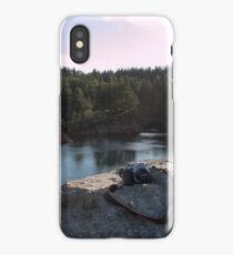 when technology meets nature iPhone Case/Skin