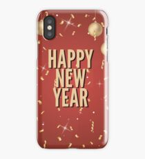 New Year Christmas winter holidays  iPhone Case/Skin