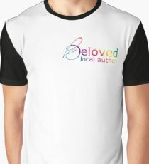 Beloved Local Author - Rainbow Version Graphic T-Shirt