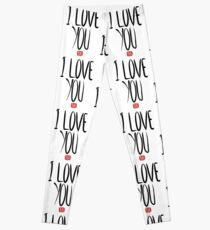 Love Me, Love Me Not: I Love You...Tube Leggings